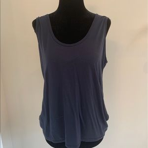 Navy Blue Tank Top